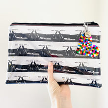 Load image into Gallery viewer, This Year I Will  - Large Clutch and Leather Tassel