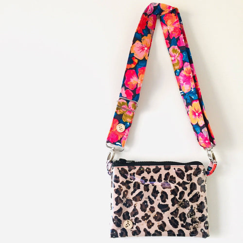 Leopard Purse Plus+ with adjustable strap