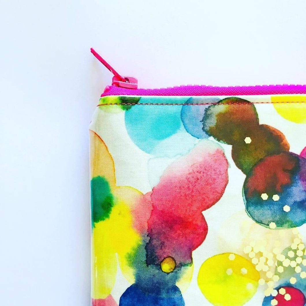 Inky Drops - Planner Pouch