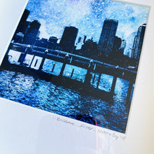 Load image into Gallery viewer, Brisbane River - Framed print