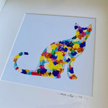 Load image into Gallery viewer, Spotty Cat - Framed print