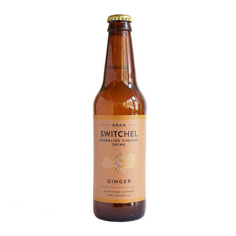 Ginger Sparkling Switchel (12 Pack)