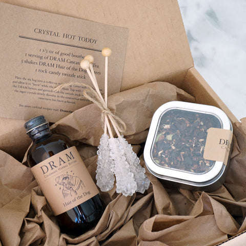 Chai + Vanilla Crystal Hot Toddy Cocktail Kit