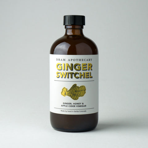 Ginger Switchel Drinking Vinegar (Concentrate)