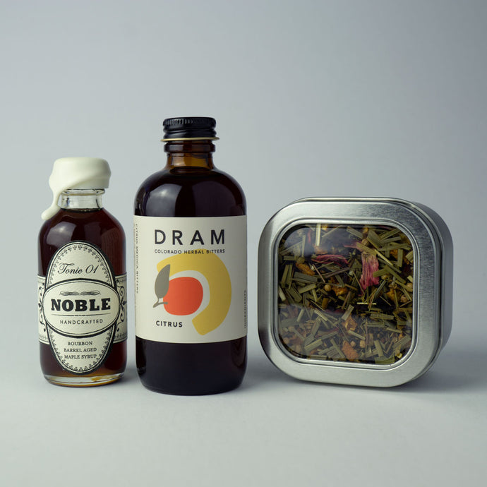 Lemon Ginger Hot Toddy Cocktail Kit