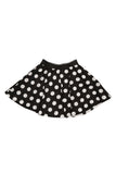 Kate Mack Opposites Attract B/W Polka Dot Skirt sz 5 & 12 only