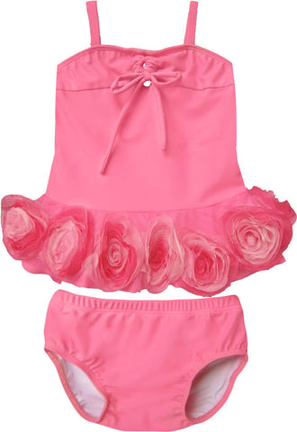 Isobella and Chloe Belle Rose Tankini for Babies & Toddlers sizes 6m, 3m only