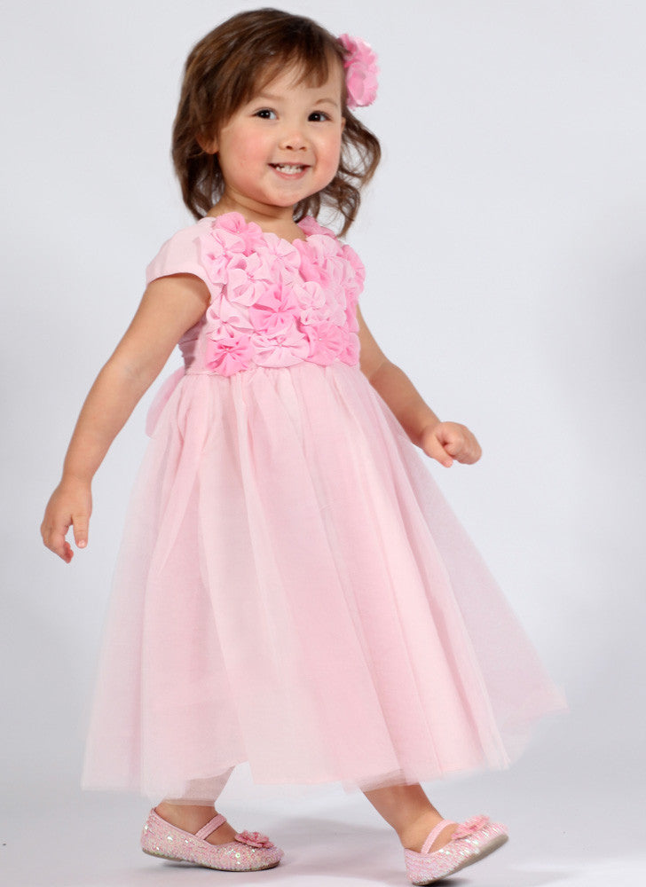 da5ae2a50 Biscotti Blushing Rose Ballerina Dress in Pink sz 9 mos only ...