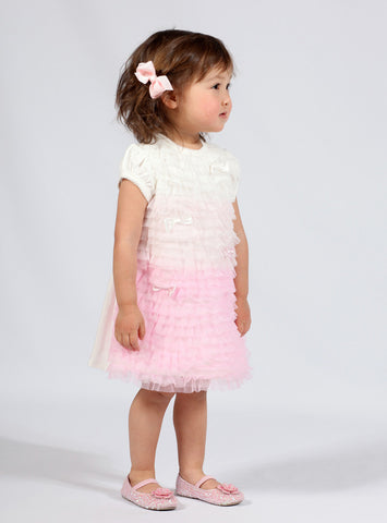 Biscotti Feeling Frilly Infant Dress and Bloomers sz 6m & 9m & 18m only