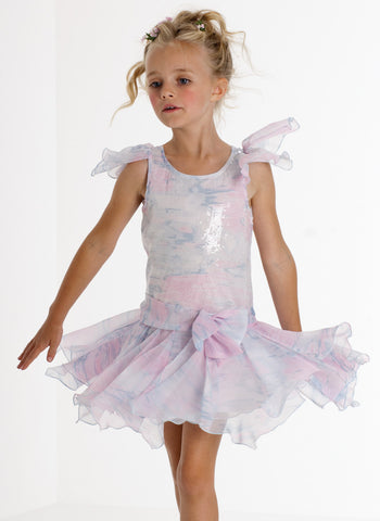 Biscotti Water Lilies Fluttery Fairy Dress sz 6 only