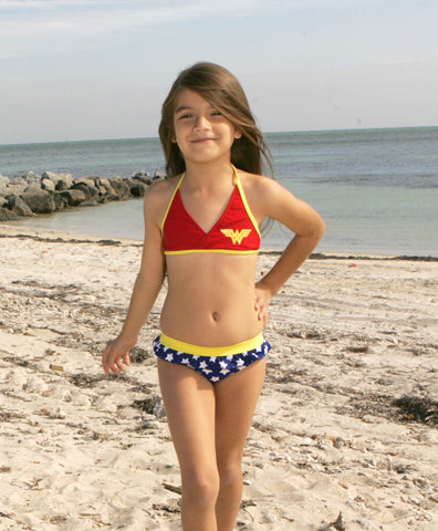 DC Comics Wonder Woman Bikini for Girls