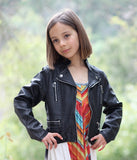 ElisaB Zippered Pleather Jacket sz 7 & 14 only