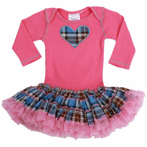 Ooh La La Couture Tied Shirt Poufy Dress for Babies