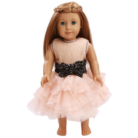 Ooh La La Couture Dream Dress with Coco Tweed Bow for Dolls