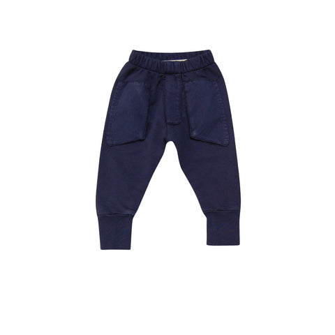 Go Gently Baby Euro Trousers in Navy sz 6/12 mos