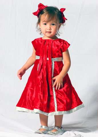 Trish Scully Red Fiona Dress sz 4 & 5 only