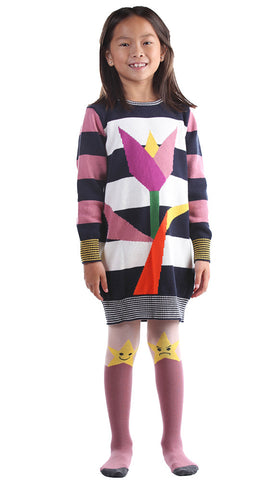 Stella McCartney Trudie Tulip Organic Sweater Dress sz 4 & 10 & 12