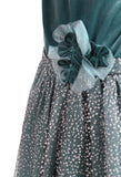 Isobella and Chloe Winter Sparkle Dropwaist Dress sz 4 only