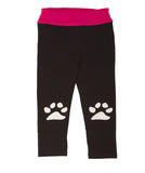 Limeapple L/S Puppy Top and Pawprint Legging Set sz 12m 18m & 24m