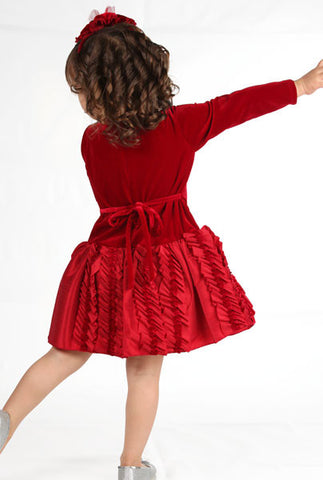isobella and chloe monet dropwaist dress great for holidays and