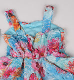 Cach Cach Palm Beach Floral Sweetheart Dress sz 5 only