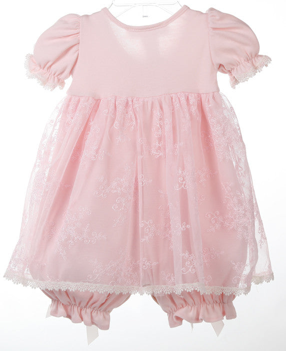 7963a76d016a Katie Rose Faith Bloomer Heirloom Baby Dress in Pink – Bunnies Picnic