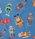Thingamajiggies Robots Long Pajamas for Boys sz 2T & 12
