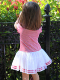 Kate Mack Eau So French Striped Tutu Dress for Babies & Toddlers
