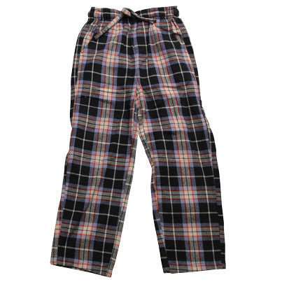 Wes and Willy Jack Thomas Brushed Plaid Pants in Black Plaid sz 4 only
