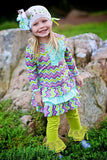 Trish Scully Green Leggings for Toddlers