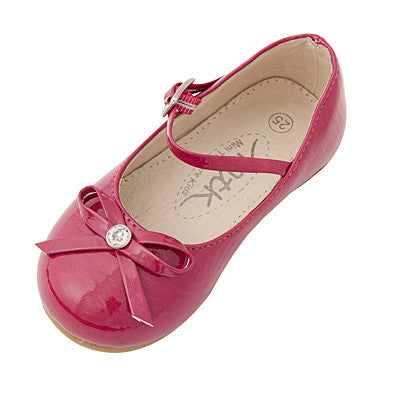 Mini Treasure Kids Paris Shoes with Bow sz 7 infant only