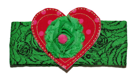 Zaza Couture Emerald Headband