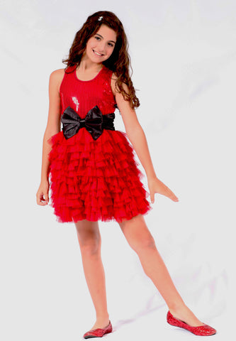 Ooh La La Couture WOW Dream Dress in Red 6x/7
