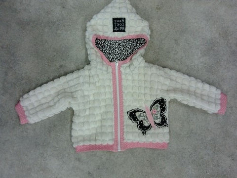Zaza Couture Roki & Zoi Fuzzy Hooded Jacket for Babies & Toddlers