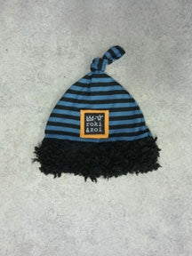 Zaza Couture Roki & Zoi Rocketship Hat sz 6/12 mos only