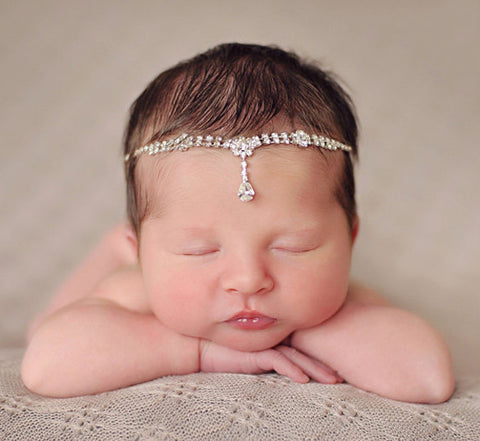 Enchanted Shimmer Amirah Tie-Back Headband for All Ages