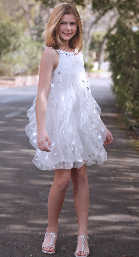 Biscotti Starry Eyed Tulle Dress Sz 6x Bunnies Picnic
