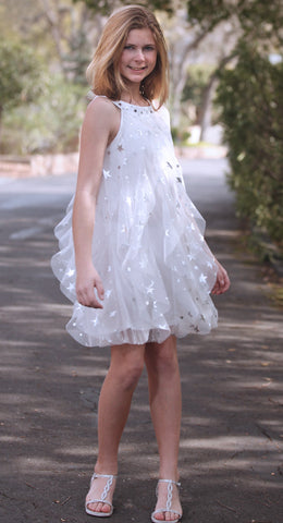 Biscotti Starry Eyed Tulle Dress sz 4