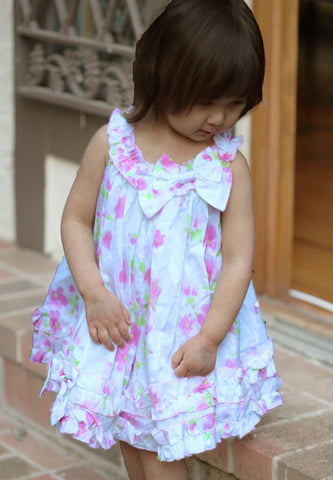 Biscotti Watercolors Dress sz 12m & 3m only