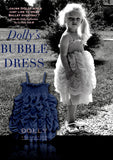 Dolly Bubble Dress in Dark Blue sz L only 8 to 10