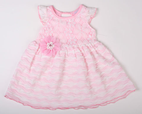 Cach Cach Basket Lace Dress and Bloomers sz 18m only
