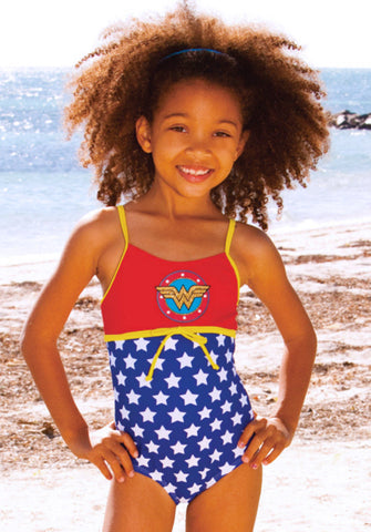 DC Comics Wonder Woman Swimsuit for Toddlers