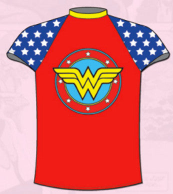 DC Comics Wonder Woman Rashguard for Toddlers