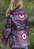Desigual Bon Water Repellant Jacket with Hideaway Hood sz 4 only
