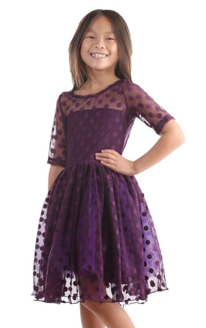 Five Loaves Two Fish Maiden of the West Dress in Eggplant Purple sz 4 & 8 & 10 only