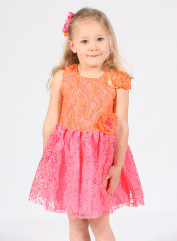 Halabaloo Sorbet Lace Dress