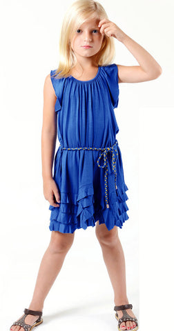 Imoga Gloria Dress in Azure sz 4 only