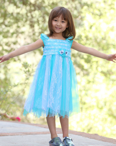Isobella and Chloe Seaside Escape Cinderella Dress
