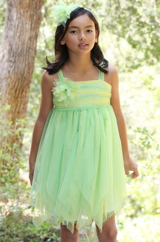 Isobella and Chloe Honeydew Dress sz 5 & 6 & 12 only