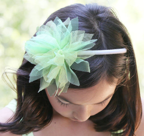 Isobella and Chloe Honeydew Headband